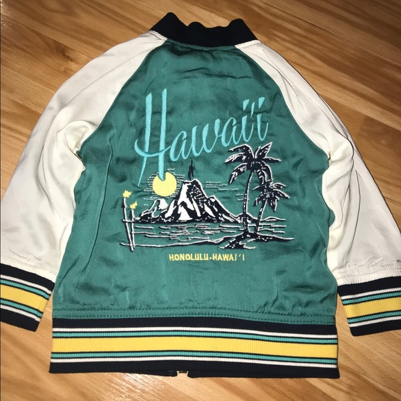 Target Other - Genuine Kids Hawaii Summer Varsity Jacket size 2T